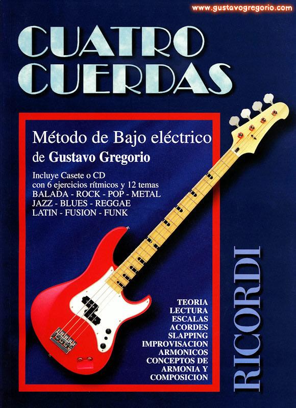 Cuatro Cuerdas - Método de bajo Eléctrico (cd+libro) - MoL